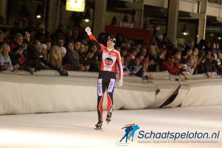 Johan Bakker was vorig seizoen de eindwinnaar van het 6-Banentoernooi.