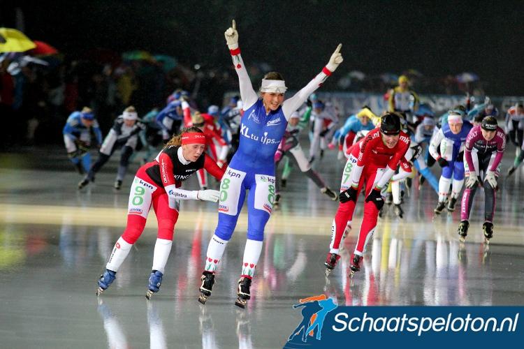 Irene Schouten won onder andere in 2013. Met drie overwinningen is zij mede recordhouder bij de Dames.