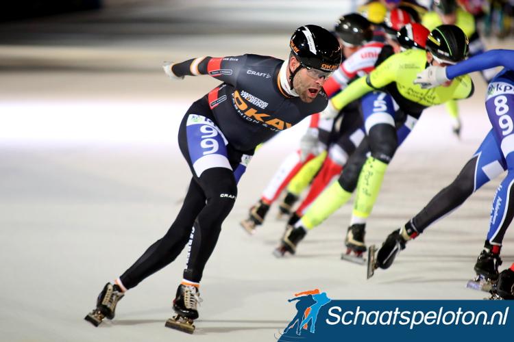 Erben Wennemars won de vierde wedstrijd voor Masters in de regionale Noord-Oost Competitie.