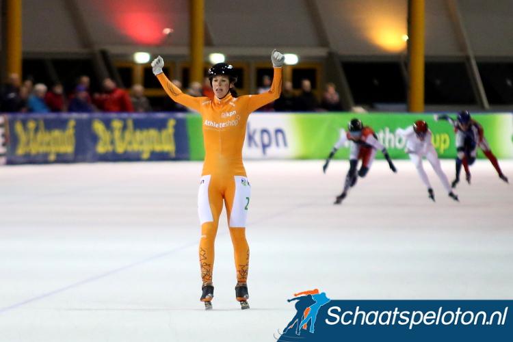 Janneke Ensing legde vorig jaar in Eindhoven het peloton haar wil op, vanavond kan het peloton opnieuw de strijd aan gaan in Eindhoven.