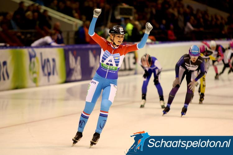 Irene Schouten zal komend seizoen haar Nederlandse Titel gaan te proberen verdedigen op Nieuwjaarsdag in Heerenveen.