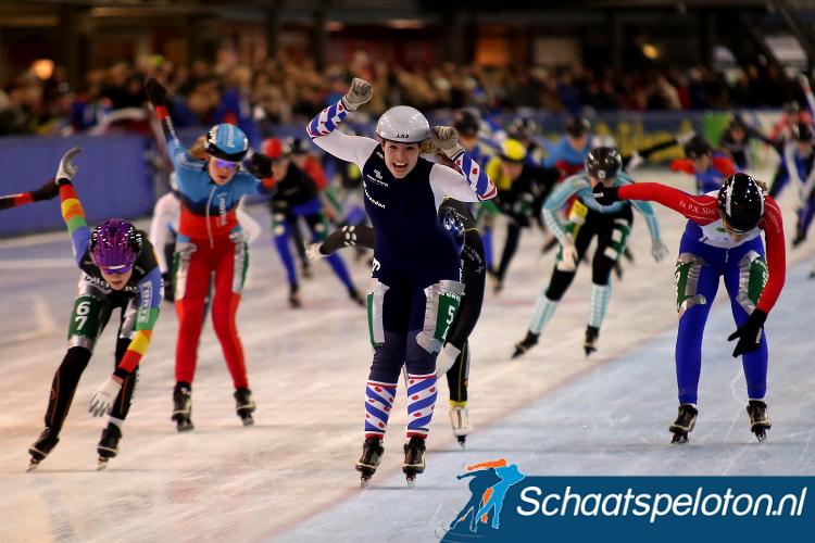 Demi van Benthem werd afgelopen winter nog Nederlands Kampioene marathonschaatsen bij de Junioren A.