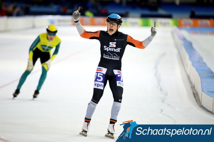 Daniel Niero zal zijn debuut in de Topdivisie maken als doorstroomrijder tijdens de KPN Marathon Cup in Haarlem.