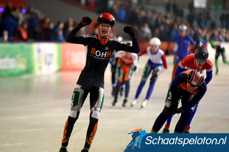 Ivo de la Porte pakte de titel bij de jongens Junioren C.