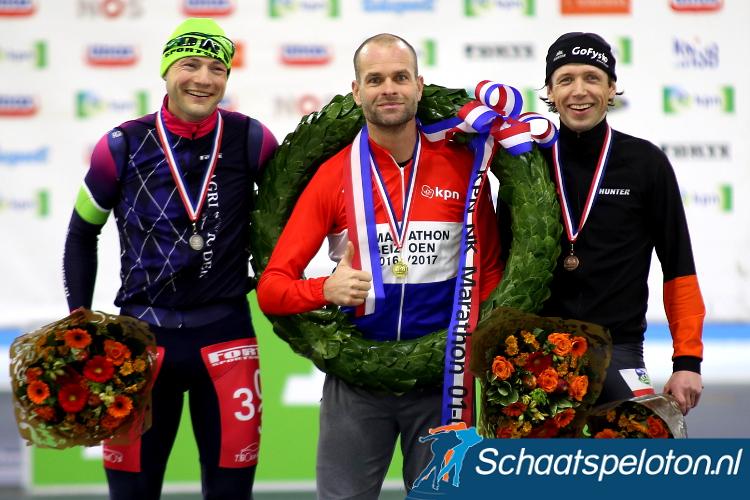 Erben Wennemars won vorig seizoen de Nederlandse titel. Nieuwjaarsdag mag hij samen met 99 andere Masters opnieuw strijden om de titel.