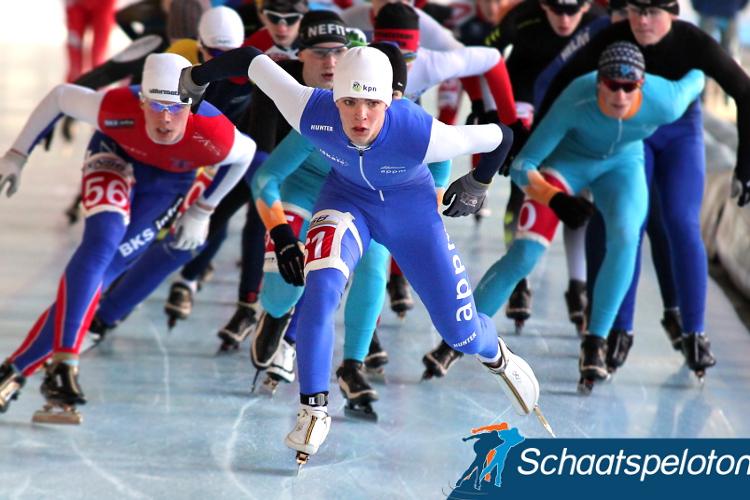 Chris Huizinga is komende winter de jongste rijder in het Heren Topdivisiepeloton.