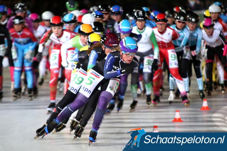 Daniëlle Bekkering is met tien medailles tijdens een Open NK de absolute recordhoudster.