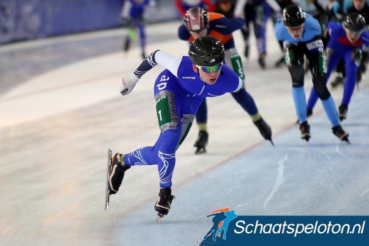 Harm Visser won de openingswedstrijd in de C Divisie