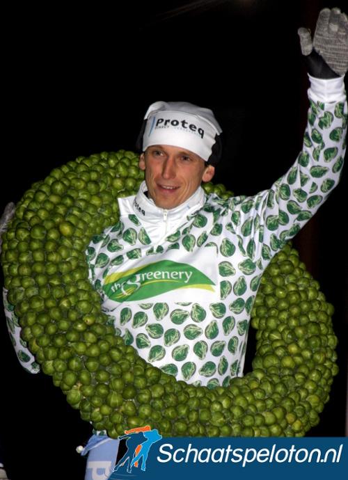 Jan Maarten Heideman was in 2006 de laatste winnaar van het spruitjespak.