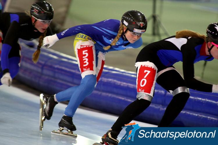 Marijke Groenewoud behaalde haar vierde overwinning en nam de leiding in het klassement weer terug.