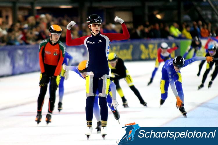 Tjerk de Boer is de regerend Nederlands Kampioen marathonschaatsen bij de Junioren B. Komende winter is hij de jongste rijder in het Beloftenpeloton.