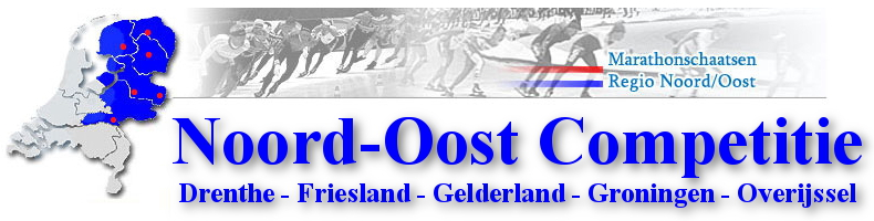 Homme Jan de Groot en Kim Talsma winnen in Noord-Oost Competitie